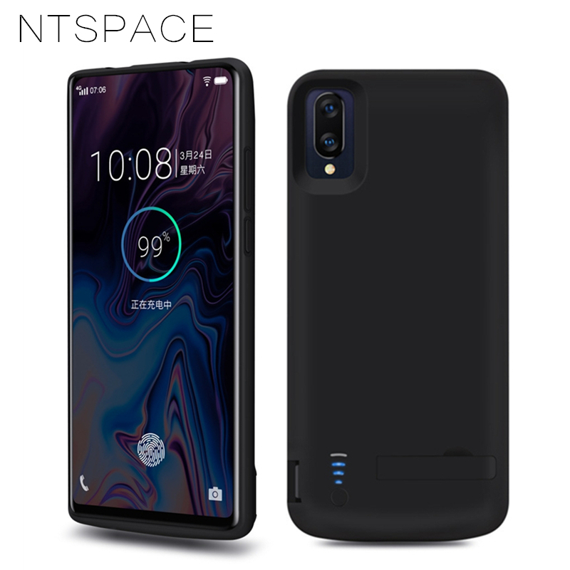 NTSPACE 6500mAh Ultra Thin Powerbank Battery Charger Case For VIVO NEX Power Bank Pack Case External Backup Charging Power Case