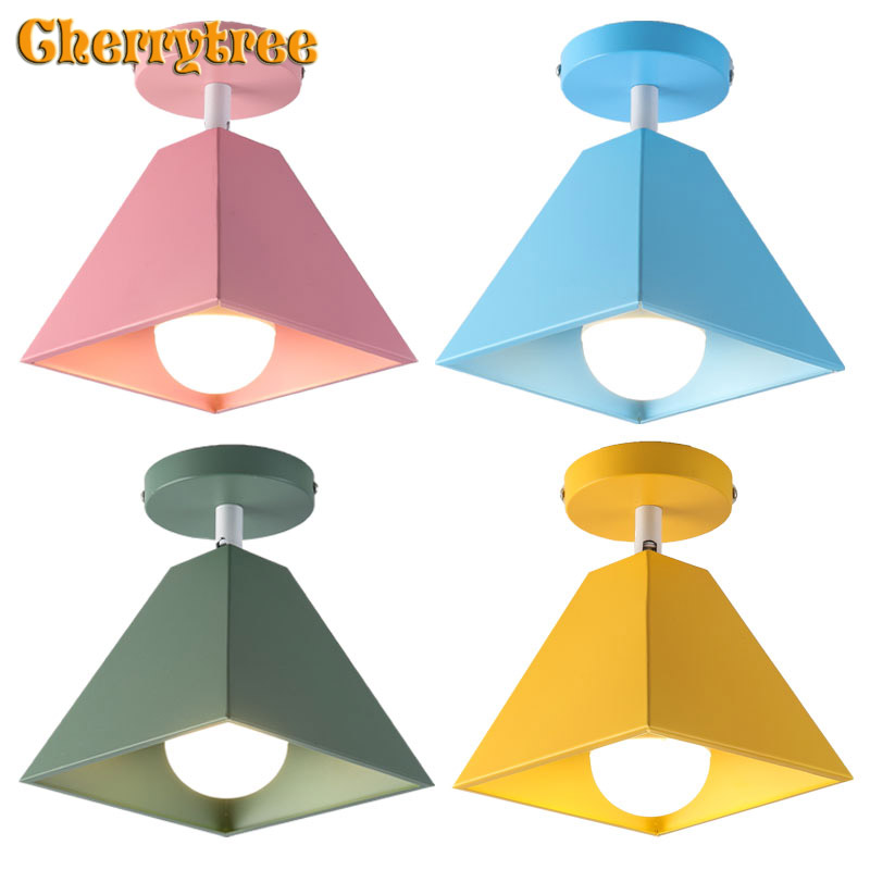 Ceiling lights modern Nordic ceiling lamp colors loft decor lamps for living room bedroom kids room kitchen light fixtures ledCeiling lights modern Nordic ceiling lamp colors loft decor lamps for living room bedroom kids room kitchen light fixtures led
