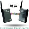 BX-501 2.4G Adaptador Bluetooth Transmissor Receptor Sender Hi-Fi Speaker Sem Fio Definido para Home Theater Sistema Hi-Fi de Áudio de Prata