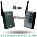 BX-501 plata 2.4G Remitente Transmisor Receptor Adaptador de Altavoz Inalámbrico Bluetooth de Alta Fidelidad Sistema de Cine En Casa Sistema de Audio de Alta Fidelidad