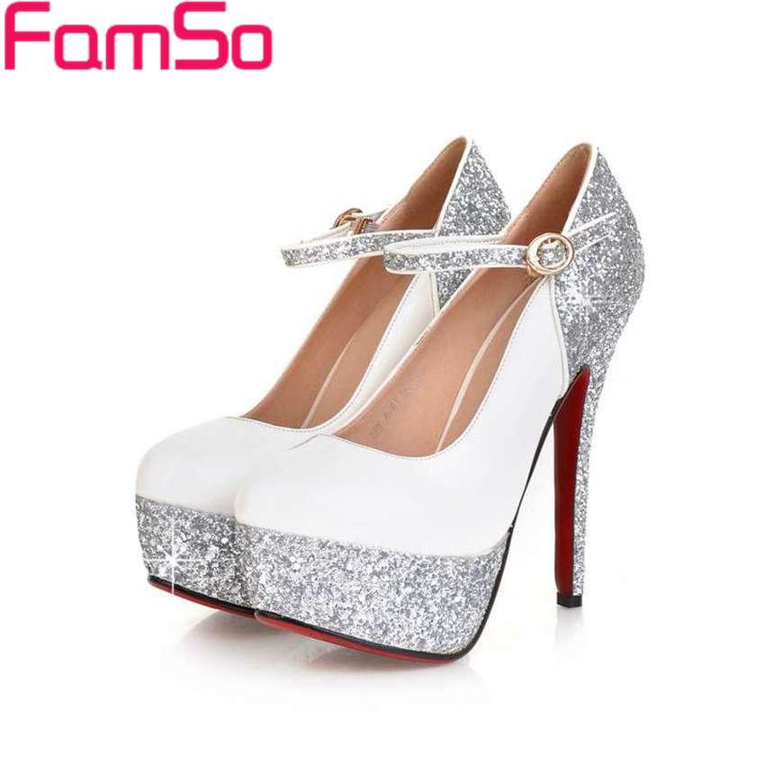 Online Get Cheap Gold Glitter Platform Heels -Aliexpress.com