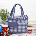 Portable Insulated Canvas lunch Bag Thermal Food Picnic Lunch Bags for Women kids Men Cooler Lunch Box Bag