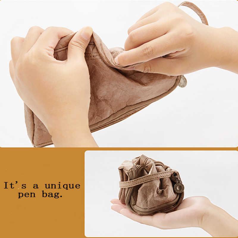 Водостойкая ручка сумка оригинальность милые карандаш «кавай» косметическая сумка школьные и офисные принадлежности письма канцелярские Прозрачный Подарок