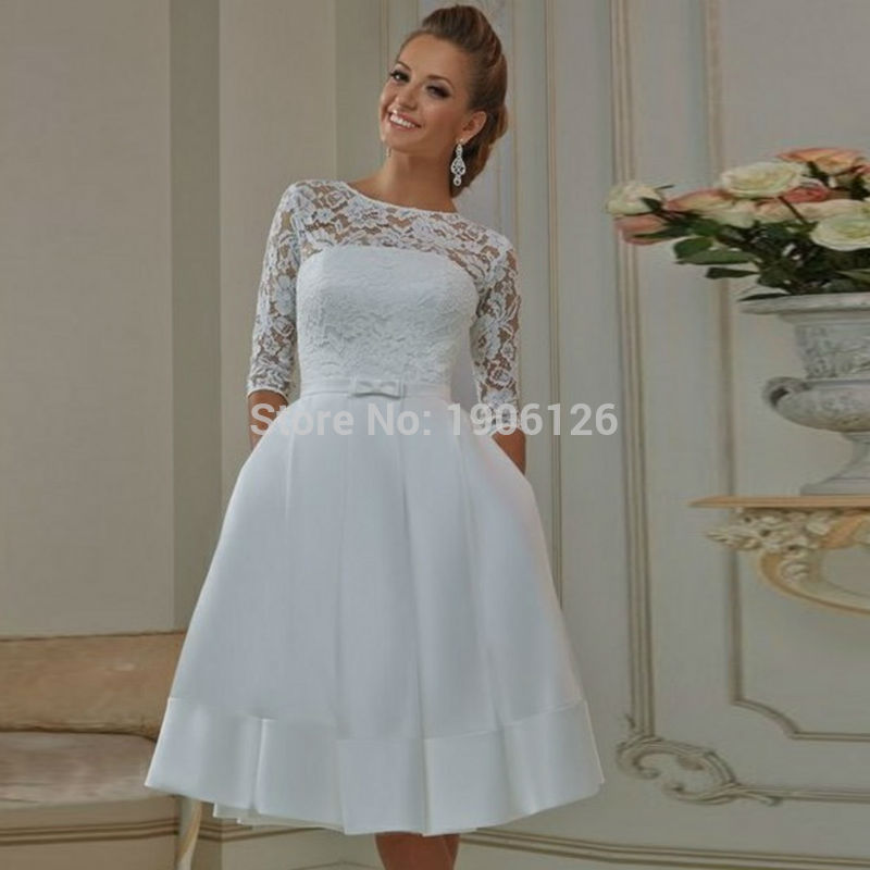 Compare Prices on White Short Corset Wedding Dresses Online