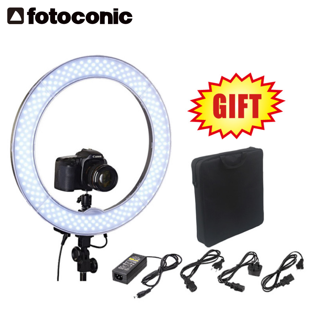 48cm 55w 4800lm 5500k Dimmable Led Ring Light + Camera Phone  Holder For Photography Camera Phone Video Photo Makeup