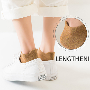 100% Cotton Women socks Ankle Socks  soft Thin character Short Deodorization novelty Crew Color Summer 1Pairs