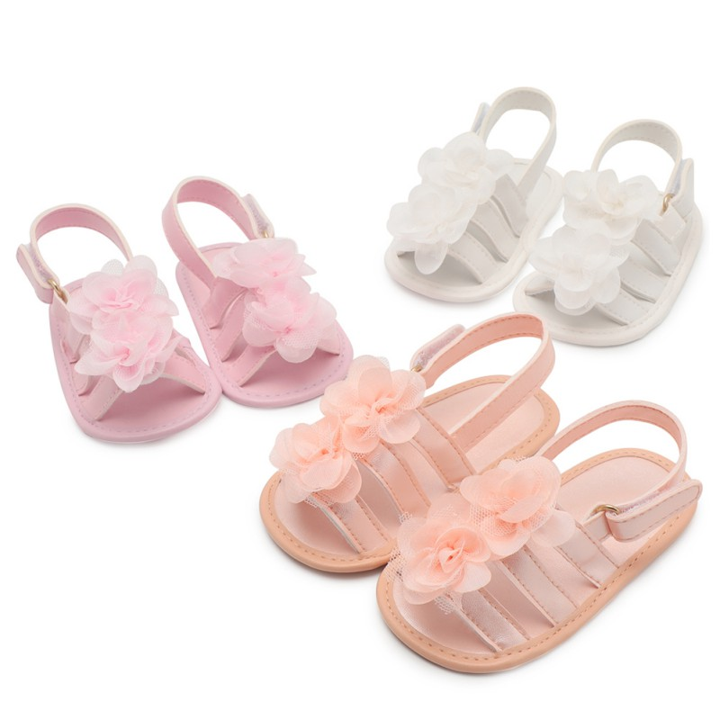 Baby Shoes Summer Fashion First Walkers Baby Girl Shoes PU Leather Baby Girl ShoesFlower Princess Fashion