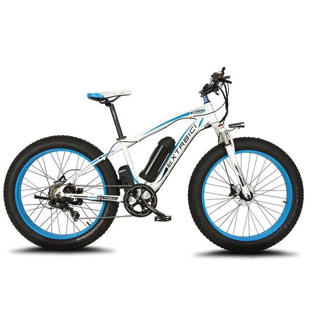 Cyrusher XF660 1000 Вт 48 В 16ah Fat tire Bike электрический велосипед полный кадр Подвески ebike гидравлические дисковые тормоза Электрический жира велосипед