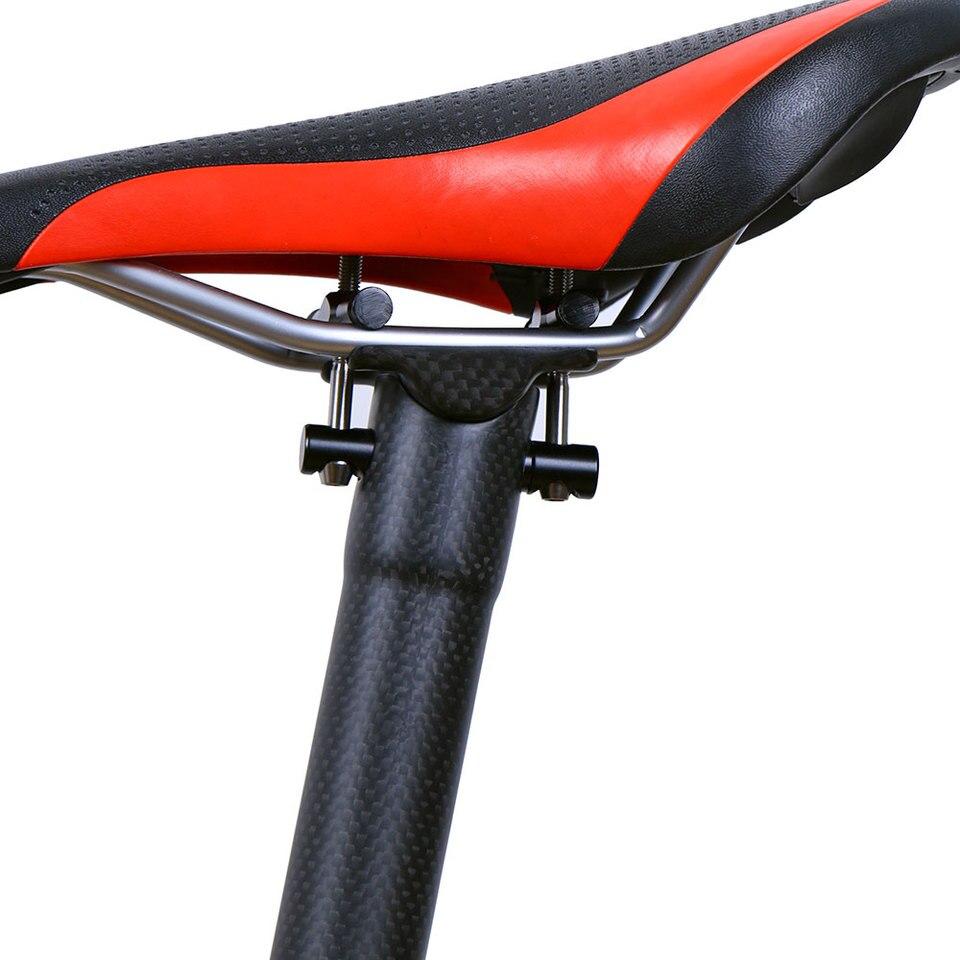 Carbon racing Seat saddle post Seatpost Tube set 27.2//30.8//31.6 MTB XC Road Bike