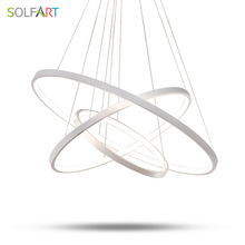 SOLFART lamp pendant lights abajur lighting lustre adjustable modern vintage design light fixtures LED dining 8059
