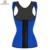 Miss Moly Colete cintura Látex espartilho de Aço Desossado Underbust Corsets Corpo Shapewear Bustier cincher corselet Preto Azul