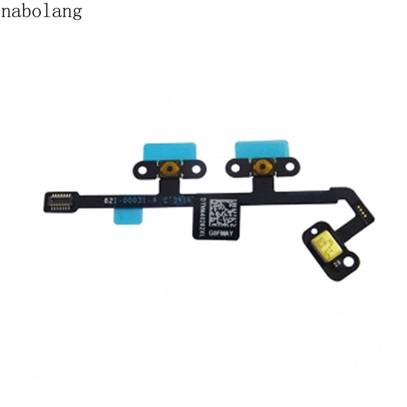 For ipad Air 2 Volume Key Button Flex Cable Ribbon Repair parts For ipad 6 / air 2 plautus volume 2
