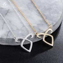 oly2u The Mortal Instruments City of Bones necklace Angelic Power Runes Shadowhunters pendant for men and women wholesale