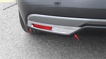 Yimaautotrims Accessori ABS Chrome Paraurti Posteriore Lampada Della Nebbia Luci Telaio di Copertura Trim Fit Kit Per Nissan Kicks 2016 2017 2018 2019