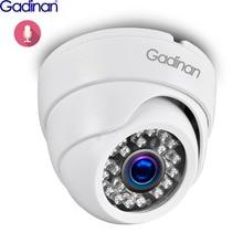 Gadinan h.265ai 3mp 1080p 25fps 1/2.7 sccâmera ip sc3235 áudio interno ir noite dome câmera de vídeo movimento alerta p2p rtsp poe