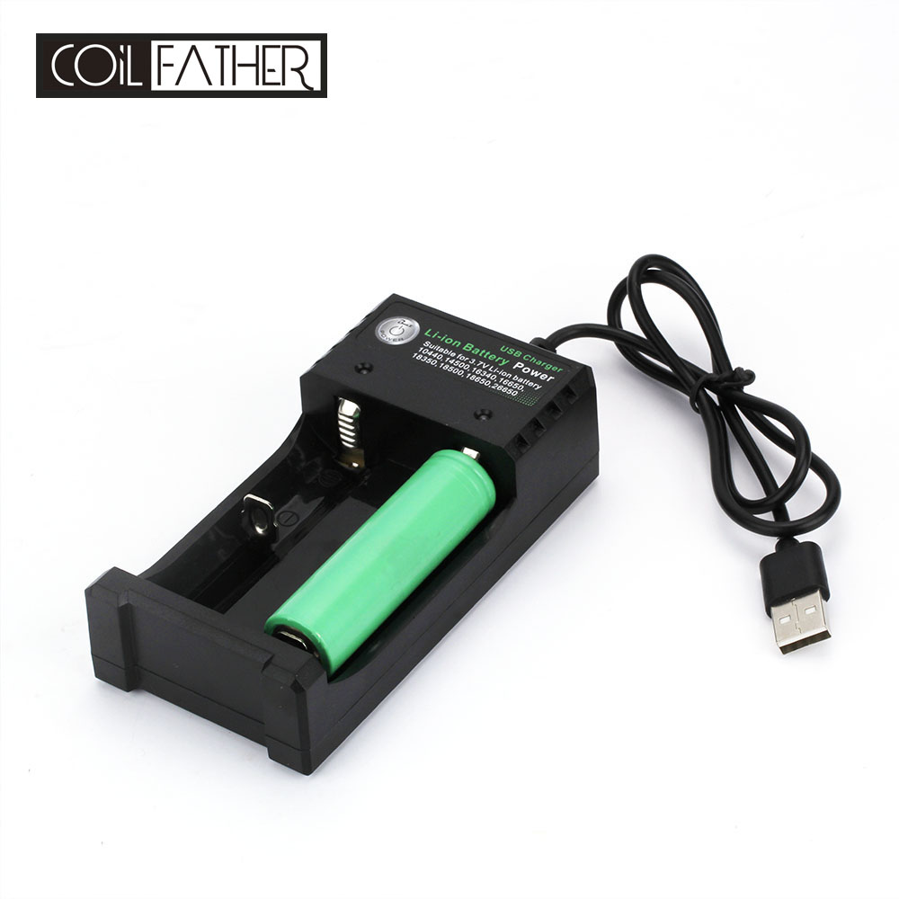 1x 18650 lithium battery wall charger twin uk with adaptor vape vapourizer !