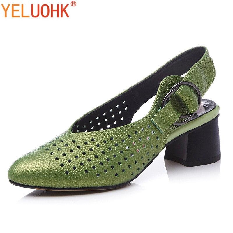 Top Cuir Dames 43 Taille Escarpins green white En red Qualité Véritable 5 34 Pompes 4 Hauts D'été Chaussures Talons Femmes Gray Cm Grande qp0OWtw