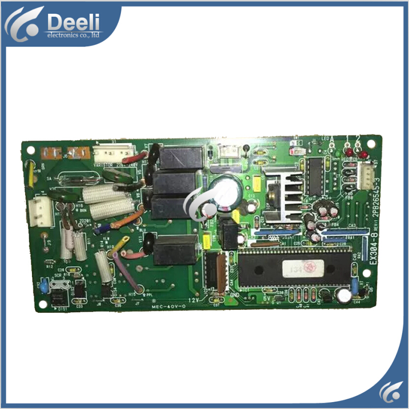 95% new & for air conditioning Computer board 2PB26545-3 EX304-8 control board 95% new original for midea air conditioning fan motor ydk36 4c a ydk36 4g 8 4g 8 36w direction of departure