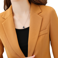 2018 New Autumn Female blazer Jackets short blasers mujer women's slim long-sleeve woman suits coat work tops