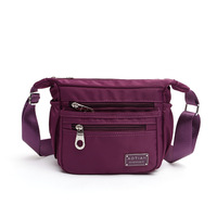 Casual Handbag Women Waterproof Nylon Messenger Bags Brand Teenage Girls Travel Cross Body Wallet Flap Shoulder