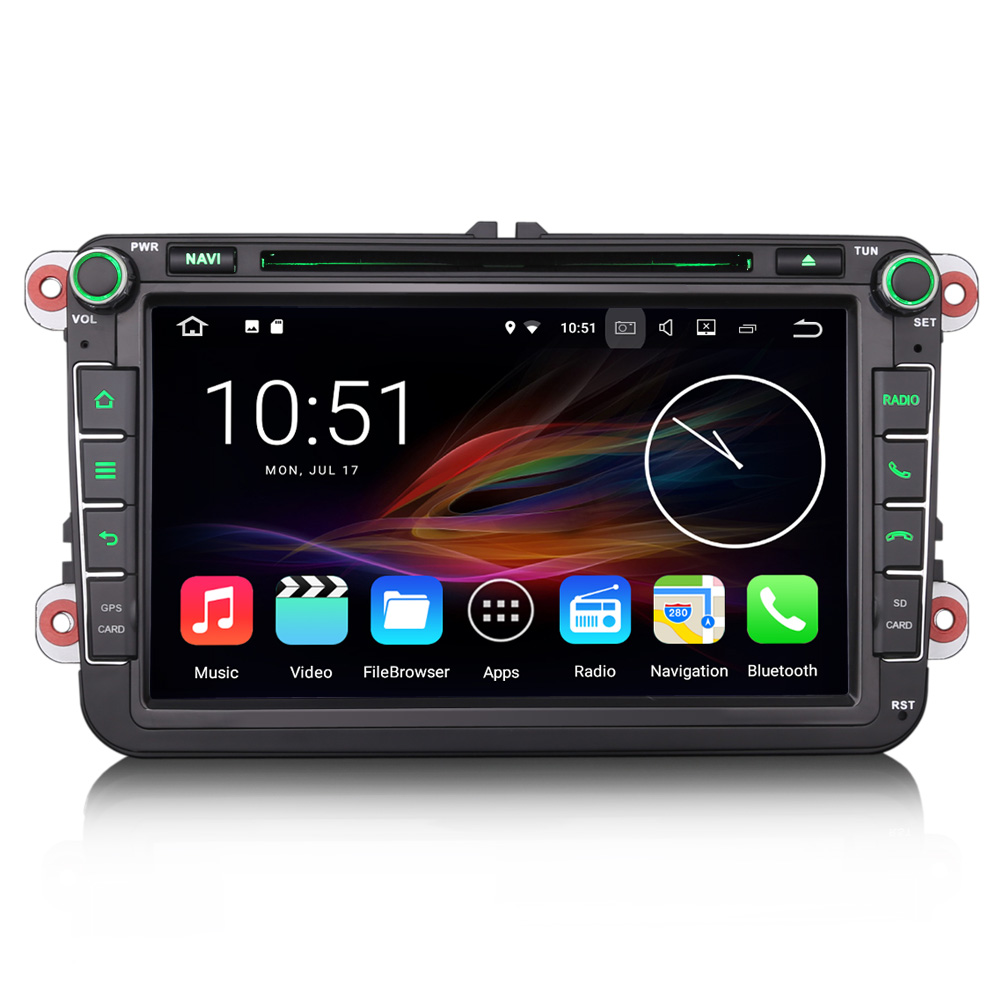 erisin es4745v 8 android 7 1 car dvd gps navigation. Black Bedroom Furniture Sets. Home Design Ideas
