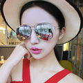Vintage Luxury Sunglasses Women 2016 Brand Designer Coating Plastic Frame Oculos Sun Glasses gafas de sol
