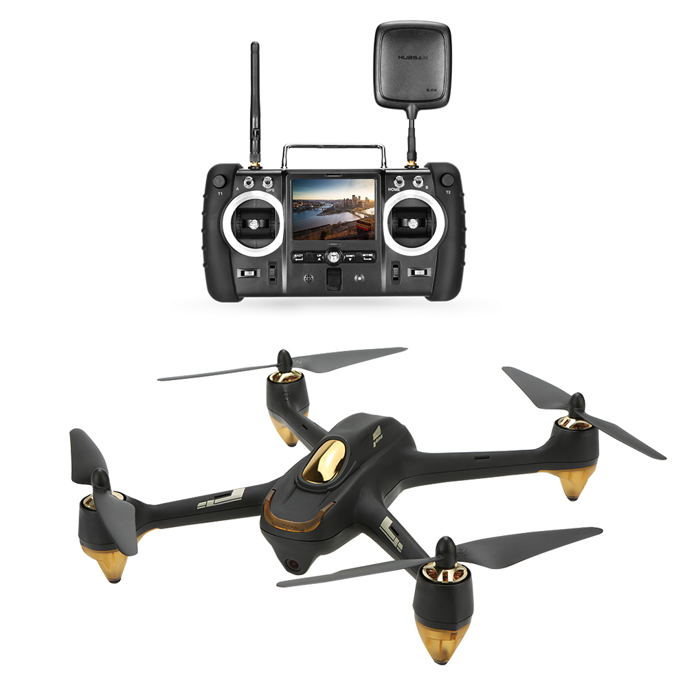 Hubsan H501S Pro X4 5.8G FPV Selfie Drone Brushless RC Drone with Camera 1080P 10 Channel Remote Control GPS RC Quadcopter (1)