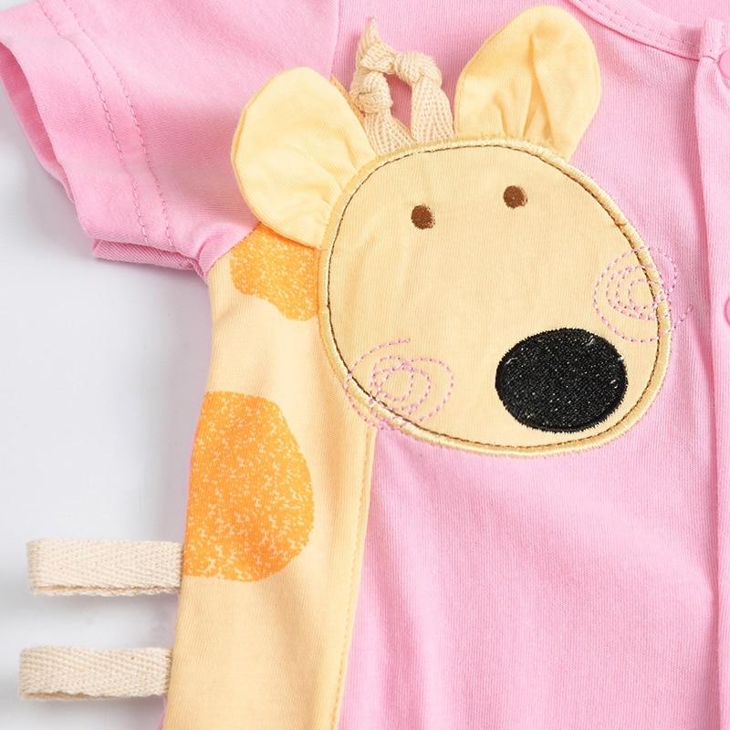 Katoenen Giraf Baby Rompertjes Ronde Hals Babykleding Jongen - Babykleding - Foto 6