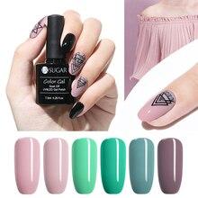UR SUGAR 7.5ml  Series Pure Nail Color Gel Polish Soak Off UV LED Lacquer Manicure Art Varnish DIY