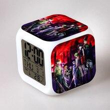 Japanese Anime Akame ga Kill Seven Color Change Glowing Digital Alarm Clock 03178