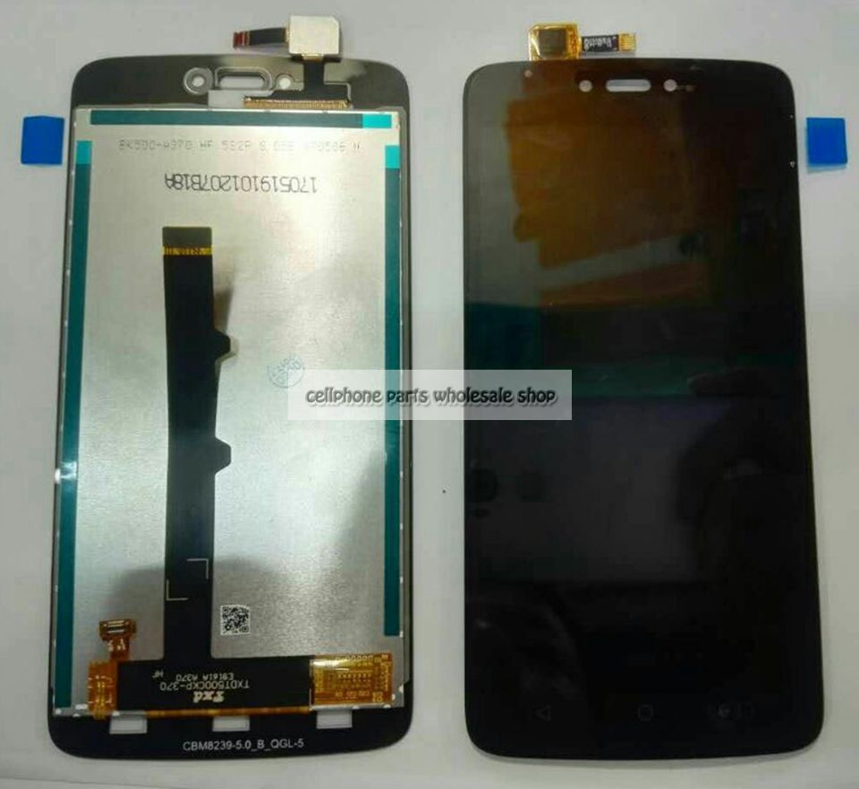 Highbirdfly For Motorola Moto C XT1750 XT1755 Lcd Screen Display WIth Touch Glass DIgitizer Assembly Replacement Parts