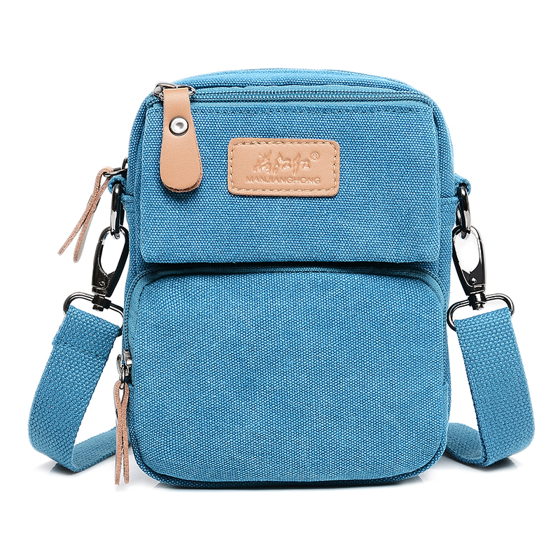Fashion Canvas Small Messenger Bags Men Casual Women Crossbody Bag Vintage Multi-functional Leisure Shoulder Sling Bag Men 1229 japanese pouch small hand carry green canvas heat preservation lunch box bag for men and women shopping mama bag