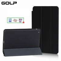 Case For IPad Mini 1 Mini 2 Mini 3 GOLP PU Leather Cover Fiber Inner Case