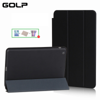 Case For IPad Mini 1 Mini 2 Mini 3 GOLP PU Leather Cover Fiber Inner Case