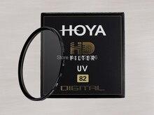 Hoya 82มิลลิเมตรHD UVอัลตร้าไวโอเล็ตกรองดิจิตอลความละเอียดสูงป้องกันเลนส์สำหรับกล้องSLRเลนส์