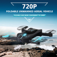 Folding aircraft wifi fpv remote control drone toy X T3 360 degree flight one key take off landing 720P 480P hd camera gift toys