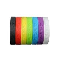 10 Pcs Nouveau Kuangmi Gym Bodybuilding Basket-Ball Puissance Bandes Bracelets Fitness Sport Bracelets En Silicone Décoration