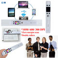 Frete grátis! Wi-fi Sem Fio 1050 DPI iScan Portátil Digital LCD Scanner de Documentos Foto JPG PDF Recibos A4 Mini Handy Scanner