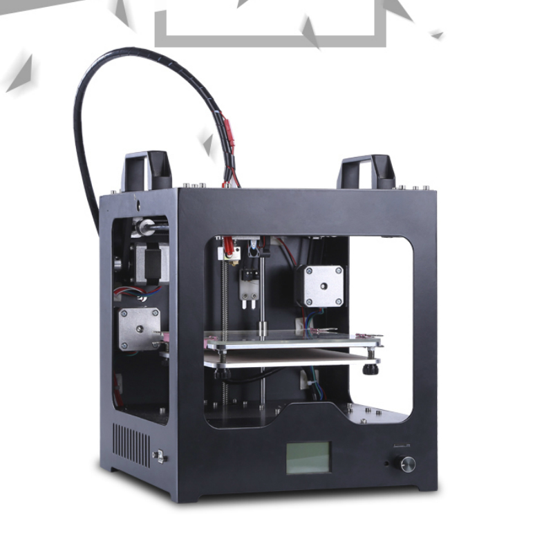 FREE SHIPPING 2016 Best Selling Mini 3D printer Machine with Building Size 110*130*110 mm