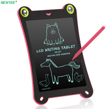 NEWYES Portable 8.5″ Inch frog LCD Writing Tablet Digital Drawing Tablet Handwriting Pads Electronic Tablet Board Board Gifts