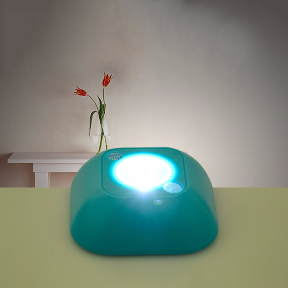 Outdoor LED Light Emergency Mini Night Lamp Motion Activated Sensor Lights Battery Power ...
