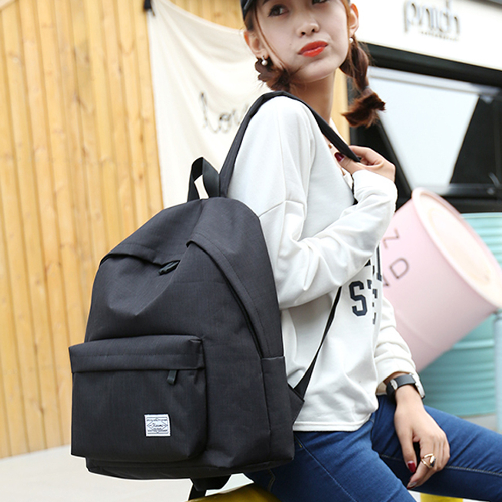 Fashion Nylon Women Backpack College Middle High School Bag For Teenager Girl Ladies Book bag Mochila Soft Daily bagpack