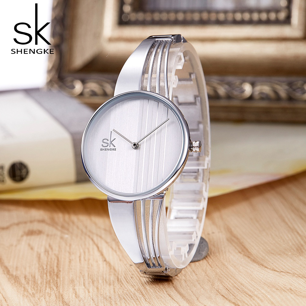 SHENGKE TOP Brand Women Watch Fashion Charm Bracelet Women Watches for Lady Jewelry Clock Quartz Women Relojes Mujer 2018 New Lahore