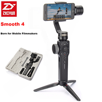 Presale Zhiyun Smooth 4 3 Axis Handheld Smartphone Gimbal Stabilizer For IPhone X 8 7P Samsung