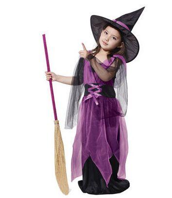 disfraces de carnaval de disfraces para nias traje de la bruja de halloween para chicas fantasy