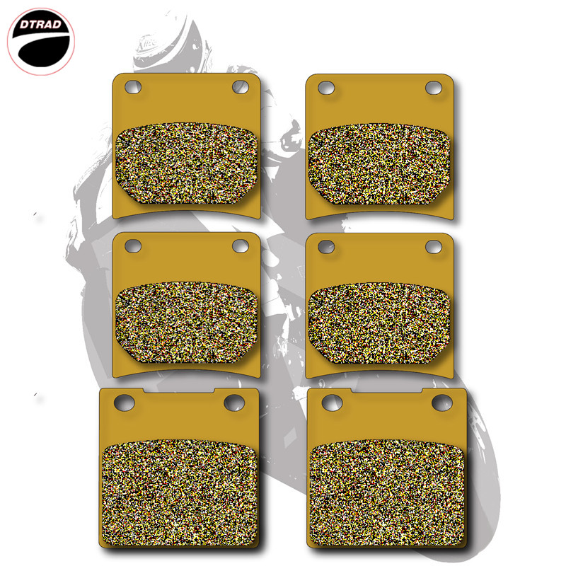 Motorcycle Brake Pads Front+Rear For SUZUKI STREET BIKES GSX 1100 F Katana  1988-1994 motorcycle front and rear brake pads for yamaha street bikes tdm 900 tdm900 2002 2010 sintered brake disc pad