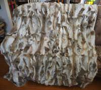 Manta de piel de conejo de retales Natural Real alfombra de piel de conejo mantas decorativas Tapetes para sala de estar alfombras y alfombras para sala de estar