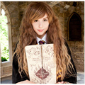 55cm Medium Brown Long Kinky Curly Movie Harry Potter Hermione Jean Granger Cosplay Harajuku Women Wigs Cheap Synthetic Hair Wig