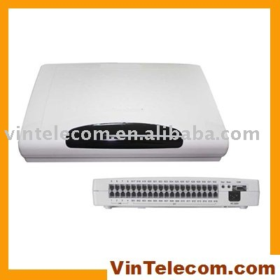 CP432 PABX System 4lines x 32 extensions phone system directly from China PBX factory VinTelecom