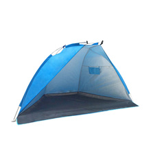 2 Persons Outdoor Beach Tent Shelter Summer Uv Protection Tent Sports Sunshade Camping Fishing Picnic Tent цены онлайн